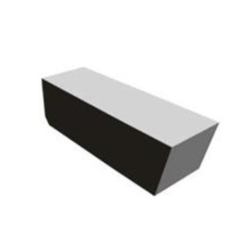 自贡长城 焊接刀片,YT5 C305,用于切断刀和切槽刀,40片/盒