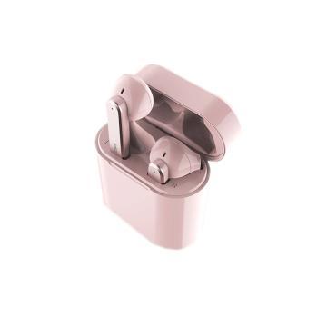飞利浦真无线蓝牙耳机,TAT3235 粉色 运动跑步 入耳式 适用于苹果华为 降噪超长待机