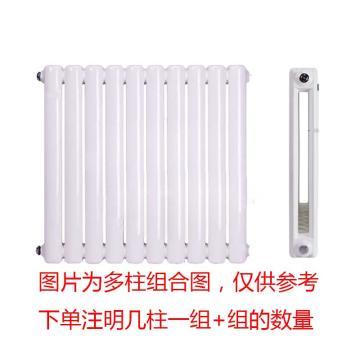 冀中暖气 钢三柱散热器,GZ317-2.5mm,中心距1700mm,壁厚2.5mm,1柱/箱,不含安装及辅材