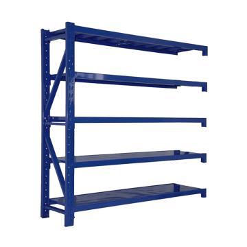 Raxwell 层板货架副架,5层,500kg,尺寸(长×宽×高mm):2000×600×2000,蓝色,安装费另询