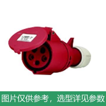 德力西DELIXI 工业连接器 DEP2-225,DHADEP2225R,32A 5芯 415V