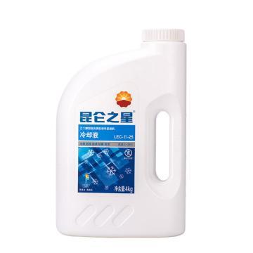 昆仑 防冻液,乙二醇型 -25℃,4kg/桶