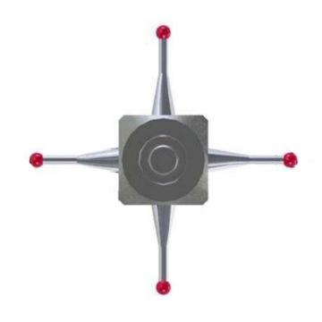 蔡司 六方体星型针,602030-9025-000