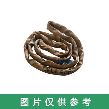 多来劲 圆吊带,圆形吊装带 6T×8m 褐色 ,0514 6012 08
