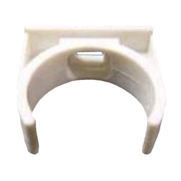 联塑白色PVC线管卡扣,DN20