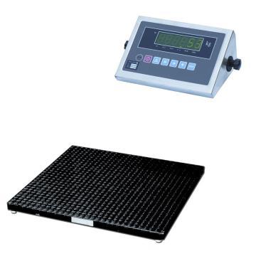 Raxwell 1000Kg超低型地磅,离地高度70mm 与RMPG0001斜坡配合或挖地坑使用,RMPG0019