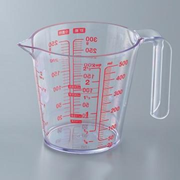 阿司倍鹭(ASVEL) 耐热量杯 500ml,O-500,3-9226-02