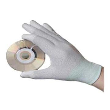 安森 防静电手套,PU811-L,防静电PU尼龙涂指手套,300付/箱