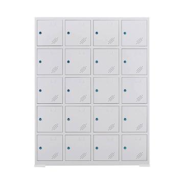 盛悦欣美 20门工具充电柜,尺寸:1125×350×1445mm,灰白色