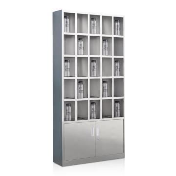 盛悦欣美 不锈钢水杯柜,25格,201不锈钢材质