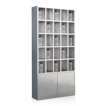 盛悦欣美 不锈钢水杯柜,25格,304不锈钢材质