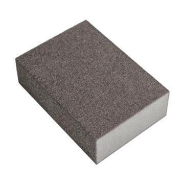 晶士霸 双面海绵砂纸块,100*70*27 mm,120目