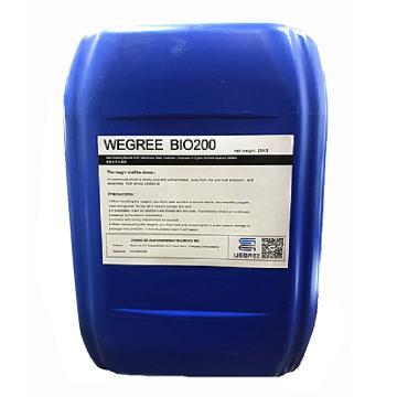 威格瑞 非氧化性杀菌剂,WEGREE BIO200,25KG/桶