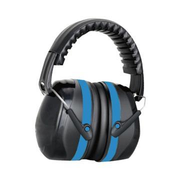 Raxwell 双层降噪耳罩,蓝色,1个/盒,均码,RW7201