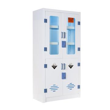 盛悦欣美 PP柜,四门高1.8m,瓷白色