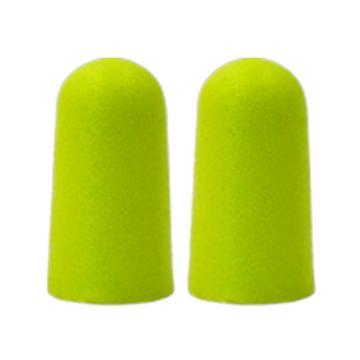Raxwell Forest PU专业降噪耳塞,绿色,S码,5副/盒,RW7101