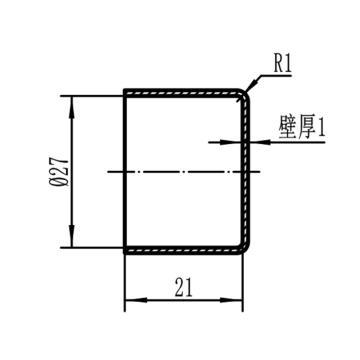 智易 PVC保护套,φ27×21