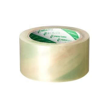 北极熊 普透封箱胶带,60MM*40Y,PP-6040 透明色 封箱、打包、困扎 单卷