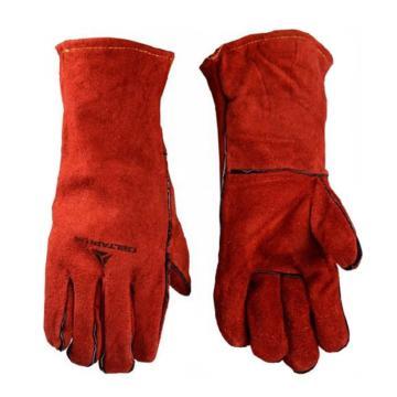 代尔塔DELTAPLUS 焊接手套,205615,凯夫拉焊工手套 CA615K
