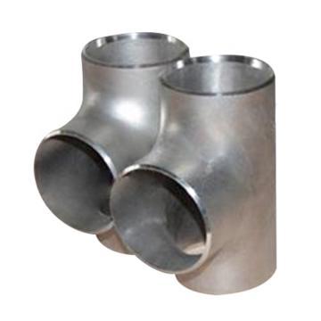 鸿冠 316L不锈钢异径三通,φ114×89×3 不锈钢壁厚等级SCH10S