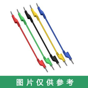 宇宙悍将 电力测试导线,香蕉插头线,4mm双头黑色,1m㎡,线长1m,10A,4mm插孔,同系列400条起订