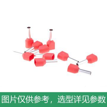 长虹塑料CHS 双管型预绝缘端子,TE4012,1000个/包