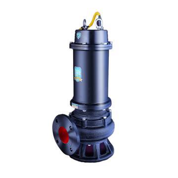 Raxwell WQ(D)潜水排污泵WQ30-30-5.5,380V,DN80,法兰连接,带出水弯管,电缆长度7米