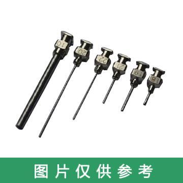 俊泽 不锈钢针头,24G 平口 针长13MM 总长25MM,120支/盒