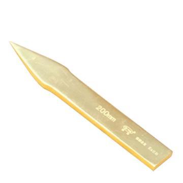 渤防 防爆平尖铲,铝青铜,140mm,1260-140AL