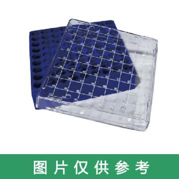 西域推荐 冷冻盒 10×10孔 1箱(5个) CC-5249-03