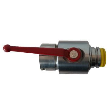 天隆 气动球阀,DN40S,材质不锈钢