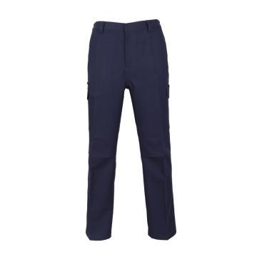 泰普士 94%涤6%棉,易干抗皱工作裤,藏青色,PC19TOJ1811NB-5XL
