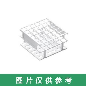 TARSONS,强化塑料试管架(小型)201010-W 13mm 36孔,62-2939-54