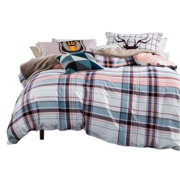 四件套,演绎经典 被套尺寸160x210cm 床单160x230cm 枕套48x74一对,适用1.2米床