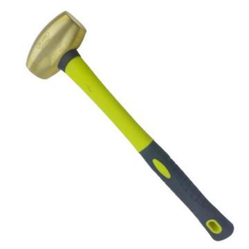 渤防 黄铜圆鼓锤,纤维柄,黄铜,15P,1404-008 黄铜