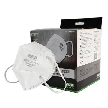 梅思安MSA 10217443,Affinity 5120+免维护防护口罩,折叠式不带阀,KN95,耳带式,20只/盒