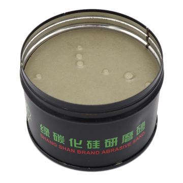 上砂牌研磨膏,400#,罐装,绿色碳化硅
