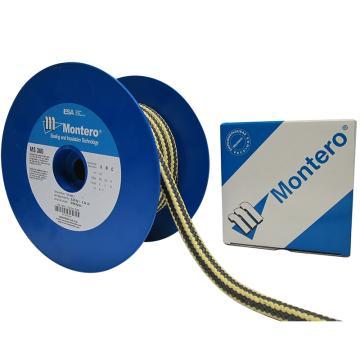 西班牙MONTERO,MS-360芳纶角线石墨四氟混编盘根,4*4,公斤价,5公斤/卷,5的倍数订货