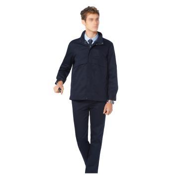 雅姿坊 商务款防静电工作服,YZF2020FJD-藏蓝色-3XL,同型号30套起订