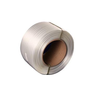 JAGPACK 聚酯复合型捆绑带打包带,宽度25mm,长度500m(2卷/箱)