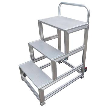 Raxwell 铝合金踏台,总高(m):0.9,3个阶梯,RMLS0008