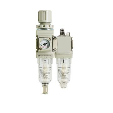 牧气MOOXEE 二联件手动排水,QC3010-03-P1S