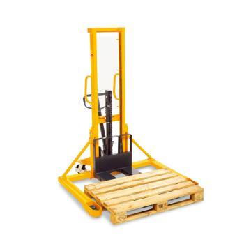 亚迈狮Ameise 手动液压堆高车,宽支腿手动堆高车 载重1t 提升高度1.6米 SDJS 1000-1.6 宽腿型