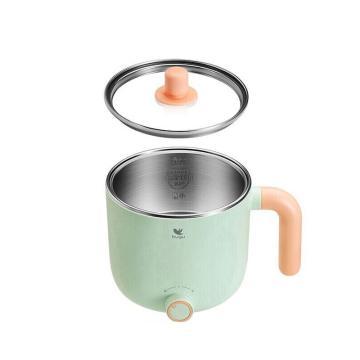 美的 布谷电煮锅,绿色不粘涂层锅带蒸屉 ,BG-SP11