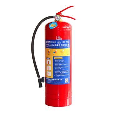 海天 手提式干粉灭火器,8公斤,MFZ/ABC8(全国配送)
