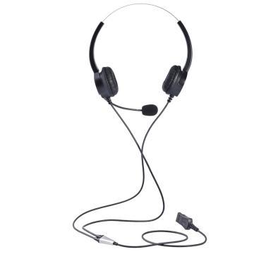北恩呼叫中心耳麦客服耳机,FOR630D-QD