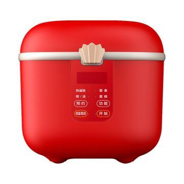 美的 大话西游联名款电饭煲,全自动多功能24小时预约,FB16E306秘境红