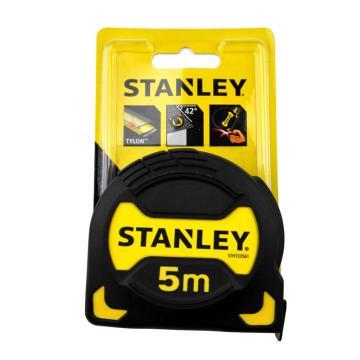 史丹利STANLEY 黑金刚公制卷尺钢卷尺木工尺盒尺尺子卷尺,5mx28mm,STHT33561-23