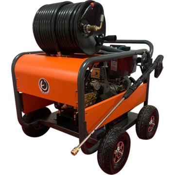 克麦尔 汽油高压清洗机,KM-Q2815HD PLUS 280bar 15L/min 卷轴版