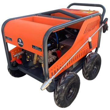 克麦尔 电动超高压清洗机,KM-E500 380V 22KW 500bar 22L/min